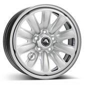 Автомобильный колесный диск R16 5*112 Hybridrad-130001 Silver - W6.5 Et46 D57.1
