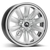 Автомобильный колесный диск R16 5*112 Hybridrad-130004 Silver - W6.5 Et41 D57.1