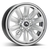 Автомобильный колесный диск R16 5*112 Hybridrad-130100 Silver - W7 Et45 D57.1