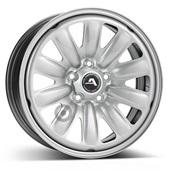 Автомобильный колесный диск R16 5*114,3 Alcar-130400 Silver - W6.5 Et50 D67.1