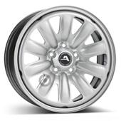 Автомобильный колесный диск R16 5*114,3 Hybridrad-130402 Silver - W6.5 Et50 D66.1