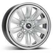 Автомобильный колесный диск R16 5*114,3 Alcar-130403 Silver - W6.5 Et40 D66.1