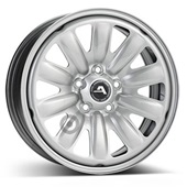 Автомобильный колесный диск R16 5*108 Alcar-130600 Silver - W6.5 Et50 D63.4