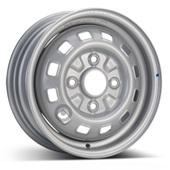 Автомобильный колесный диск R13 4*114,3 Alcar-2910 Silver - W4.5 Et45 D69.1