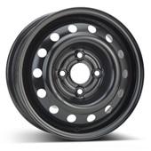 Автомобильный колесный диск R13 4*100 Alcar-3995 Black - W5 Et49 D56.6