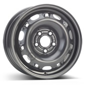 Автомобильный колесный диск R14 5*100 Alcar-5210 Black - W5 Et35 D57.1