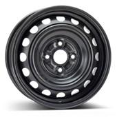 Автомобильный колесный диск R14 4*100 Alcar-5975 Black - W5 Et39 D54.1