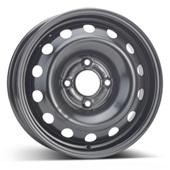 Автомобильный колесный диск R14 4*108 Alcar-5990 Black - W5.5 Et34 D65.1