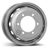 Автомобильный колесный диск R16 6*205 Alcar-6024 Silver - W6 Et124 D161.1
