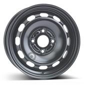 Автомобильный колесный диск R14 4*108 Alcar-6355 (Ford Fiesta 7) Black - W5.5 Et37 D63.4