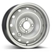 Автомобильный колесный диск R14 4*108 Alcar-6395 Silver - W5.5 Et24 D65.1