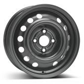 Автомобильный колесный диск R14 4*100 Alcar-6565 (Chevrolet) Black - W5.5 Et45 D56.6