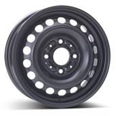 Автомобильный колесный диск R14 4*114,3 Alcar-6670 Black - W5.5 Et46 D67.1