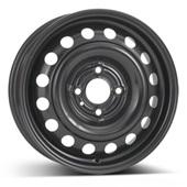 Автомобильный колесный диск R15 4*100 Alcar-6775 Black - W5.5 Et45 D60.1