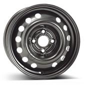 Автомобильный колесный диск R14 4*100 Alcar-6780 (Daewoo, Opel) Black - W5.5 Et49 D56.6
