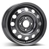 Автомобильный колесный диск R14 4*108 Alcar-6880 (Ford Fiesta 6) Black - W5.5 Et47 D63.4