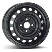 Автомобильный колесный диск R14 4*100 Alcar-7015 Black - W5.5 Et39 D54.1