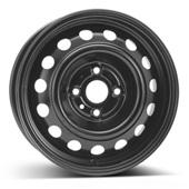 Автомобильный колесный диск R14 4*100 Alcar-7230 Black - W5.5 Et46 D54.1
