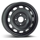 Автомобильный колесный диск R15 4*108 Alcar-7255 Black - W6 Et47 D63.4