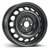 Автомобильный колесный диск R15 4*100 Alcar-7510 Black - W4.5 Et35 D54.1
