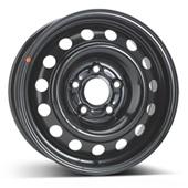 Автомобильный колесный диск R15 5*114,3 Alcar-7610 (Kia Soul) Black - W6 Et44 D67.1