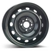 Автомобильный колесный диск R15 4*98 Alcar-7680 Black - W6 Et44 D58.1