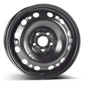 Автомобильный колесный диск R15 5*100 Alcar-8000 Black - W6 Et43 D57.1