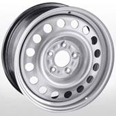 Автомобильный колесный диск R15 4*114,3 Trebl-8075T S - W6.0 Et43 D67.1