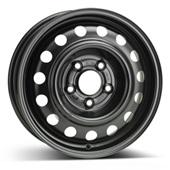 Автомобильный колесный диск R15 5*114,3 Alcar-8077 (Hyundai, Kia) Black - W5.5 Et47 D67.1