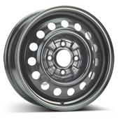 Автомобильный колесный диск R15 4*114,3 Alcar-8110 Black - W6 Et46 D67.1