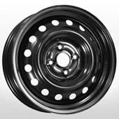 Автомобильный колесный диск R15 4*100 Alcar-8114 (Hyundai Accent) Black - W6 Et48 D54.1