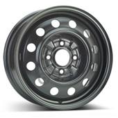Автомобильный колесный диск R15 4*114,3 Alcar-8125 Black - W6 Et46 D67.1