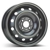 Автомобильный колесный диск R15 4*100 Alcar-8175 Black - W6 Et43 D60.1