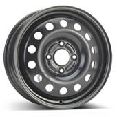 Автомобильный колесный диск R15 4*108 Alcar-8200 Black - W6 Et52 D63.4
