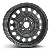 Автомобильный колесный диск R16 5*114,3 Alcar-8315 (Suzuki, Fiat) Black - W6 Et50 D60.1