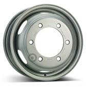 Автомобильный колесный диск R15 6*205 Alcar-8360 Silver - W5.5 Et108 D161.1