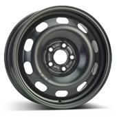 Автомобильный колесный диск R15 5*100 Alcar-8380 Black - W6 Et38 D57.1