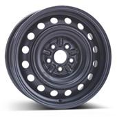 Автомобильный колесный диск R15 5*100 Alcar-8435 Black - W6 Et39 D54.1