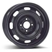Автомобильный колесный диск R15 4*108 Alcar-8690 Black - W6 Et27 D65.1