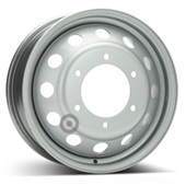 Автомобильный колесный диск R16 6*180 Alcar-9197 Silver - W6 Et109 D138.8