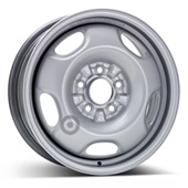 Автомобильный колесный диск R16 5*114,3 Alcar-9405 (Mitsubishi) Silver - W6 Et46 D67.1