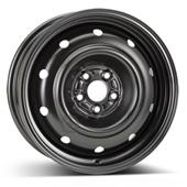 Автомобильный колесный диск R16 5*100 Alcar-9552 Black - W6.5 Et48 D56.1