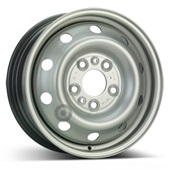 Автомобильный колесный диск R16 5*130 Alcar-9600 Silver - W6 Et68 D78.1