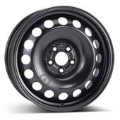 Автомобильный колесный диск R16 5*100 Alcar-9680 Black - W6.5 Et42 D57.1