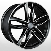 Автомобильный колесный диск R20 5*112 A102 BKF (Audi) - W9.0 Et37 D66.6