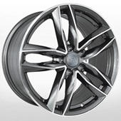 Автомобильный колесный диск R20 5*130 A102 GMF (Audi) - W9.0 Et50 D71.6