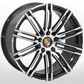 Автомобильный колесный диск R20 5*130 ALLANTE-1029 BF (Porsche) - W9.5 Et45 D71.6