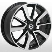 Автомобильный колесный диск R16 5*114,3 ALLANTE-5028 BF (Nissan, Renault) - W6.5 Et40 D66.1