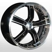 Автомобильный колесный диск R20 5*114,3 ALLANTE-573 BF - W8.5 Et35 D67.1