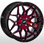 Автомобильный колесный диск R15 4*100 ALLANTE-743 BFXL - W7.0 Et30 D67.1